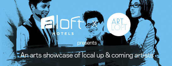 Aloft Artwall with Loft Art
