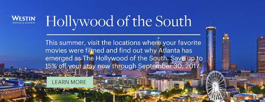 Hollywood of the South | The Westin Peachtree Plaza