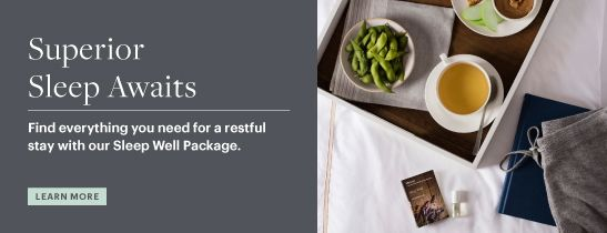 Westin Sleep Well Package