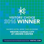 2016 Visit KC Visitors Choice Award