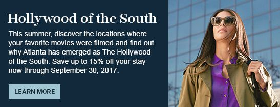 Hollywood of the South | Sheraton Suites Galleria - Atlanta