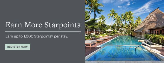 Earn up to 1,000 Starpoints