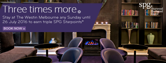 Triple Starpoints for Sunday Stays