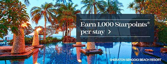 SPG® EXPLORE MORE: Earn up to 1,000 STARPOINTS per stay