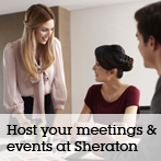 Host your meetings & events at Sheraton Imperial Kuala Lumpur.