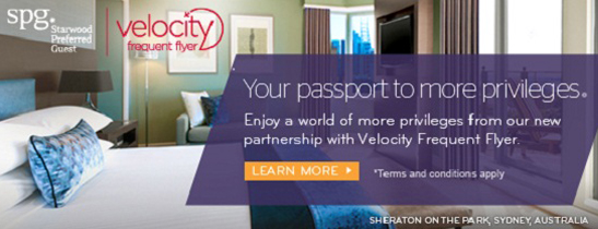 Celebrate our new partnership with Velocity Frequent Flyer with even more rewards