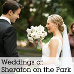 Weddings at Sheraton on the Park