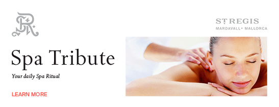 Enjoy a credit for SPA treatments - Learn more