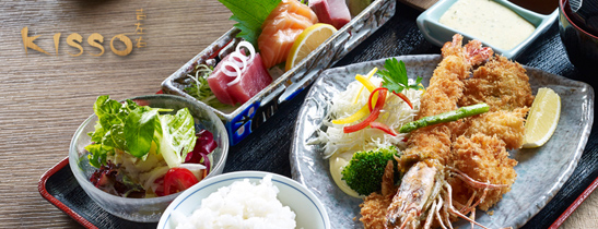 Dining Offers at Kisso Japanese Restaurant