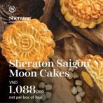 Sheraton Saigon Moon Cakes - Exquisitely Authentic and Handmade