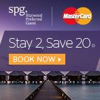 Stay 2, save 20% when you book your stay at Sheraton Saigon and pay with MasterCard®.