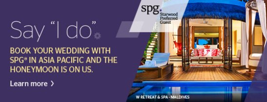 Special wedding offers at Sheraton Saigon Hotel & Towers