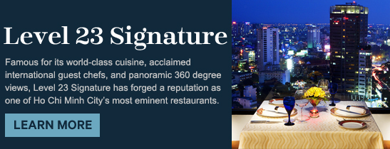 Level 23 Signature of the Sheraton Saigon Hotel & Towers