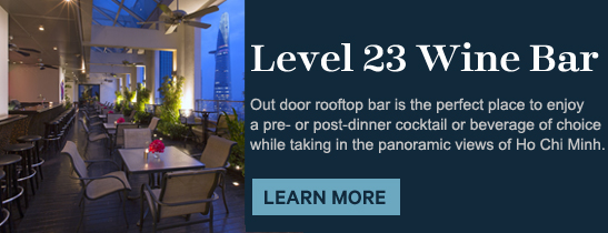 Level 23 Wine Bar of the Sheraton Saigon Hotel & Towers