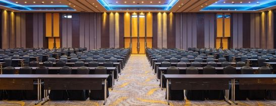 Newly refurbished Grand Ballroom at Sheraton Saigon Hotel & Towers