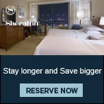Stay longer and Save bigger at Sheraton Saigon Hotel & Towers