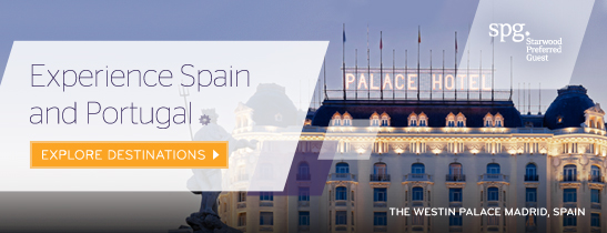 Starwood Hotels in Spain and Portugal