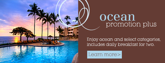 Ocean Promortion Sheraton Kona