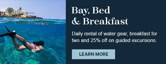 Bay, Bed, Breakfast promotion Sheraton Kona