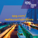 Connect to SPG® Restaurants and Bars to uncover the latest Deals and Events