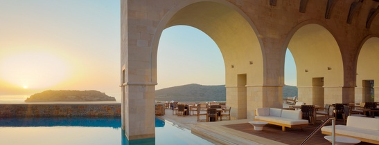 Arsenali Lounge Blue Palace Resort and Spa a Luxury Collection Resort Elounda Crete Greece