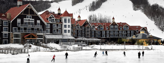 Winter-Ski-Resort