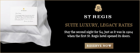 Experience suite luxury at legacy rates at The St. Regis San Francisco.