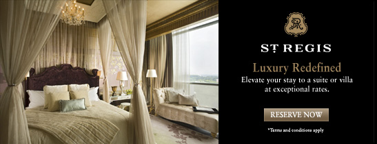 Luxury Hotel Singapore | Singapore Suite Offers | The St. Regis Singapore