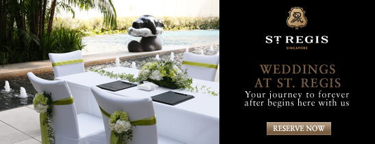 Weddings at The St. Regis Singapore | Captivating Offers