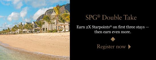 Introducing SPG® Double Take.