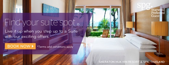 Find Your Suit Spot at Sheraton Hua Hin Resort & Spa