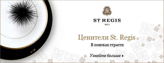 St. Regis Aficionado Exclusive Packages