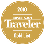 conde nast traveler gold list 2016