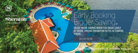 Book Early. Save More. Save up to 20% on your room rate by booking in advance at least 30 days or more.