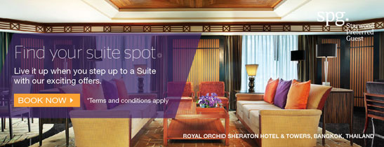 Step up to our Suites with our exclusive offers and discover luxury like never before.