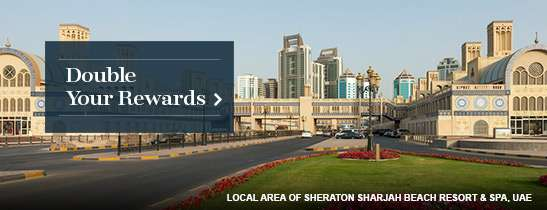 Earn double Starpoints on stays of two or more nights at all Starwood hotels & resorts