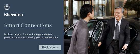 Royal Orchid Sheraton takes care of your airport transfer