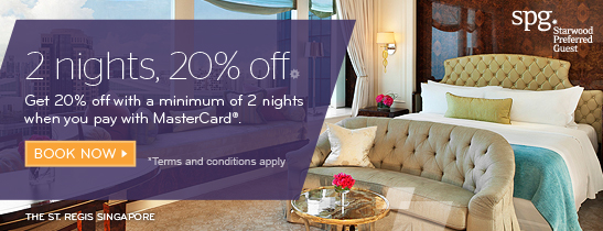 2 Nights 20% off