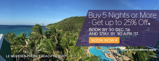 Buy 5 Nights and More - Get up to 25% Off