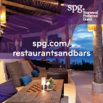 SPG Members get a 20% discount on dining.