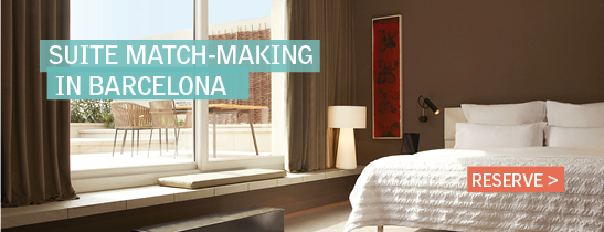 Suite match-making in Barcelona .At Le Méridien Barcelona we offer Suites for any needs.