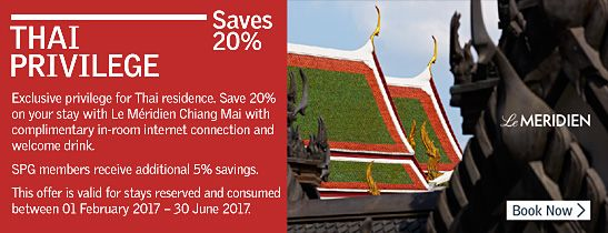 Thai Privilege Saves 20%