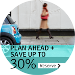 PLAN AHEAD + SAVE UP TO 30% - Advance Purchase with Breakfast