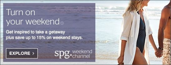 SPG WEEKENDS CHANNEL