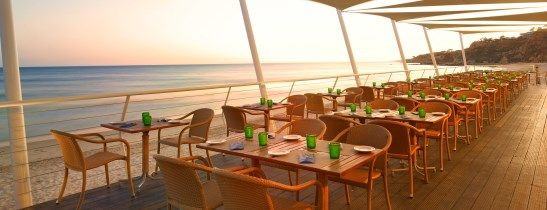 Pine Cliffs Ocean Suites, Restaurantes
