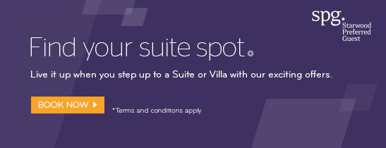 Live it up when you step up to a Suite with our exciting offers.