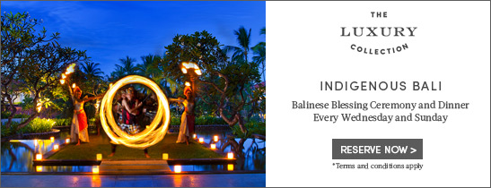 Balinese Blessing Ceremony & Dinner