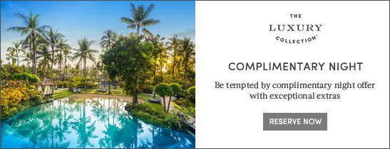 Free Night offer at The Laguna Bali