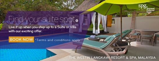 Suite and Villa Offer