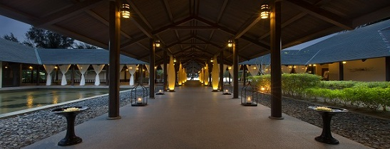 Westin Langkawi Spa entrance